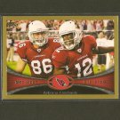 ARIZONA CARDINALS 2012 Topps Gold Border # 1732/2012 - TEAM CARD