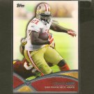 FRANK GORE 2012 Topps Prolific Players - 49ers & MIami Hurricanes