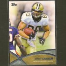 JIMMY GRAHAM Topps Prolific Players - Saints & Miami Hurricanes