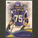 MATT KALIL 2012 Topps Prolific Players RC -  Minnesota Vikings & USC Trojans