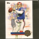 JIM KELLY 2012 Topps QB Immortals - Buffalo Bills & Miami Hurricanes