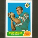 BOB GRIESE 2012 Topps Rookie Reprint -  Dolphins & Purdue Boilermakers