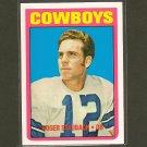 ROGER STAUBACH 2012 Topps Rookie Reprint - Dallas Cowboys & Navy Midshipmen