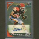 DEXTER McCLUSTER 2010 Topps Chrome Autograph Rookie RC - Tennessee Titans & Ole Miss