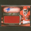 MOHAMED SANU 2012 SPx Autograph Rookie Jersey/Relic #86/399 - Bengals & Rutgers