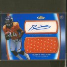 RONNIE HILLMAN 2012 Finest Autograph Rookie Jersey Relic REFRACTOR #71/99 - Broncos & Aztecs