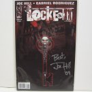 LOCKE & KEY Welcome to Lovecraft #1 SECOND PRINT Autographed by Joe Hill