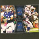 RYAN FITZPATRICK & STEVE JOHNSON 2012 Topps Paramount Pairs RC - Buffalo Bills
