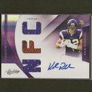 KYLE RUDOLPH 2011 Absolute RPM Memorabilia Autograph RC Rookie #30/49- Vikings & Notre Dame