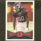 KEYSHAWN MARTIN 2012 Topps Rookie Card RC - Texans & Michigan State Spartans