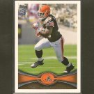 TRENT RICHARDSON 2012 Topps Rookie Card RC - Browns & Alabama Crimson Tides