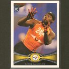CHRIS RAINEY 2012 Topps Rookie Card RC - Steelers & Florida Gators