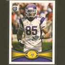 GREG CHILDS 2012 Topps Rookie Card RC - Vikings & Razorbacks