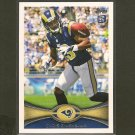 CHRIS GIVENS 2012 Topps Rookie Card RC - St. Louis Rams & Miami Redhawks
