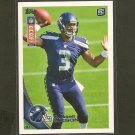 RUSSELL WILSON 2012 Topps Kickoff Rookie Card RC - Seahawks & Wisconsin Badgers