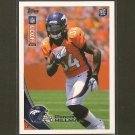RONNIE HILLMAN 2012 Topps Kickoff Rookie Card RC - Broncos & San Diego State