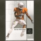 AARON WILLIAMS - 2011 SP Authentic Rookie RC - Buffalo Bills & Texas Longhorns
