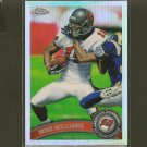 MIKE WILLIAMS 2010 Topps Chrome Refractor -  Buccaneers & Syracuse Orangemen
