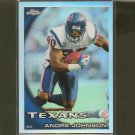 ANDRE JOHNSON 2010 Topps Chrome Refractor -  Houston Texans & Miami Hurricanes