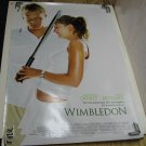 WIMBLEDON Authentic Movie Poster - Double Sided - Kirsten Dunst, Paul Bettay - 2004