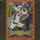 PERCY HARVIN 2012 Topps Chrome Orange Refractor - Vikings & Florida Gators