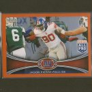 JASON PIERRE-PAUL 2012 Topps Chrome Orange Refractor - NY Giants & USF Bulls