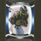 BRIAN QUICK 2012 Topps Chrome Red Zone Die Cut RC - St. Louis Rams & Appalachian State