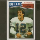 JIM KELLY 2012 Topps Chrome Rookie REPRINT - Buffalo Bills & Miami Hurricanes