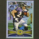 RAY RICE 2012 Topps Chrome Refractor - Baltimore Ravens & Rutgers