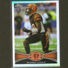 GEORGE ILOKA 2012 Topps Chrome Refractor - Bengals & Boise State