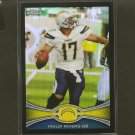 PHILIP RIVERS 2012 Topps Chrome BLACK Refractor ROOKIE RC- Chargers & NC State Wolfpack