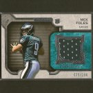 NICK FOLES 2012 Topps Strata Jersey Relic Rookie Card RC - Philadelphia Eagles & Arizona Wildcats