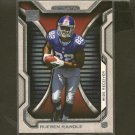 RUEBEN RANDLE 2012 Topps Strata Rookie RC -  NY Giants & LSU Tigers
