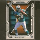 LAMAR MILLER 2012 Topps Strata Rookie RC -  Dolphins & Miami Hurricanes