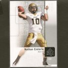 NATHAN ENDERLE - 2011 SP Authentic Rookie RC - Chicago Bears & Idaho Vandals