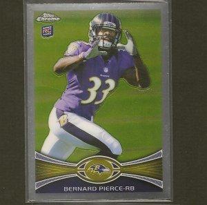 BERNARD PIERCE 2012 Topps Chrome Rookie - RC - Ravens & Temple Owls