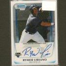 RYMER LIRIANO - 2012 Bowman Chrome Autograph RC - San Diego Padres