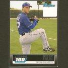 ROBBIE ERLIN - 2011 Bowman Topps 100 ROOKIE RC - Texas Rangers