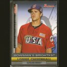 LONNIE CHISENHALL - 2011 Bowman's Brightest - Cleveland Indians & Team USA
