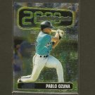 PABLO OZUNA - 1999 Bowman Chrome Rookie of the Year Favorites - Florida Marlins