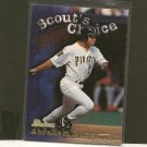 ABRAHAM NUNEZ - 1998 Bowman Scout's Choice - Pittsburgh Pirates
