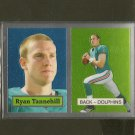 RYAN TANNEHILL 2012 Topps Chrome 1957 Retro Rookie Card RC - Dolphins & Texas A&M Aggies