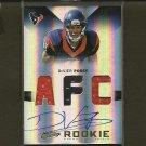 DeVIER POSEY 2012 Absolute RPM AFC #/49 Autograph Rookie RC - Ravens & Temple Owls