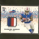 MARQUISE GOODWIN 2013 Topps Four-Color Relic Rookie RC - Buffalo Bills & Texas Longhorns