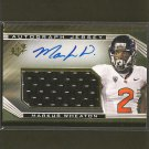 MARKUS WHEATON 2013 SPx Autograph Patch Relic RC #/475 - Steelers & Oregon State Beavers