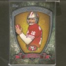 JOE MONTANA 2013 Topps Gridiron Legends - 49ers & Notre Dame Fighting Irish