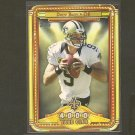 DREW BREES 2013 Topps 4,000 Yard Club - Saints & Purdue Boilermakers