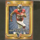 ARIAN FOSTER 2013 Topps 1,000 Yard Club - Texans & Tennessee Volunteers