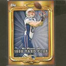 WES WELKER 2013 Topps 1,000 Yard Club - Broncos, Patriots & Texas Tech Red Raiders