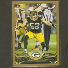 2013 Topps CLAY MATHEWS Gold Border #/2013 - Packers & USC Trojans